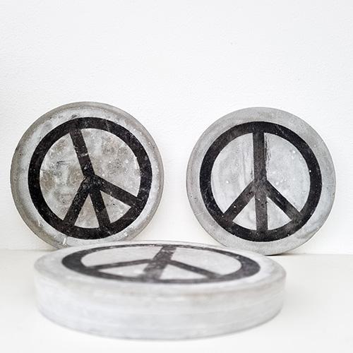Betonnen Peace Print | Stoeruh Zaken